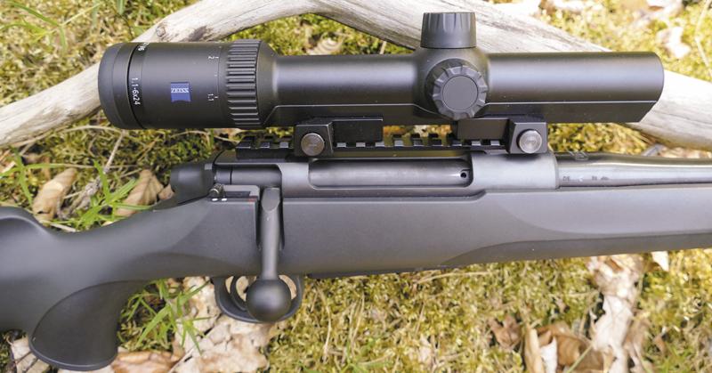 M18 использует монтаж оптики от Remington 700