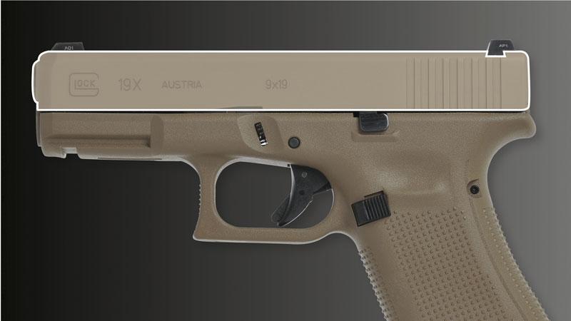 Затвор как у Glock 19
