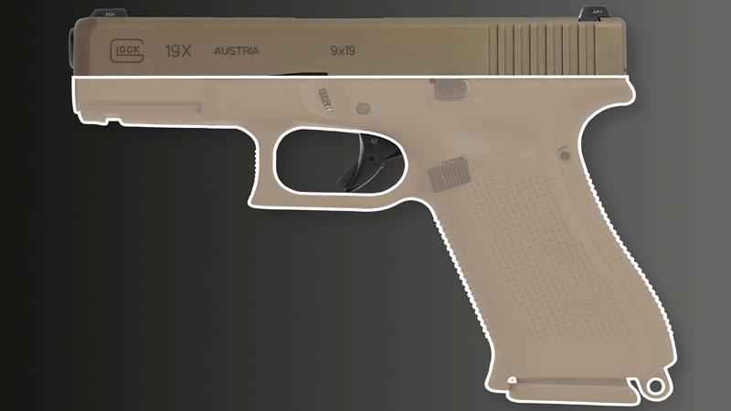 Рамка как у Glock 17