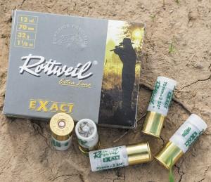 Тестовый патрон Rottweil Exact (калиберная пуля Gualandi 32 г)