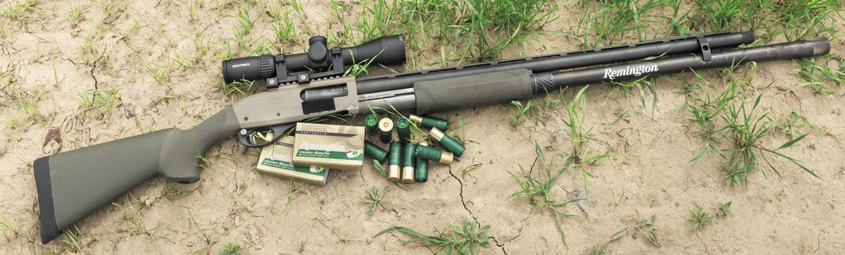 Патроны Remington Premier и прицел Nightforce SHV 3-10x42 превращают R870 в дальнобойное снайперское оружие