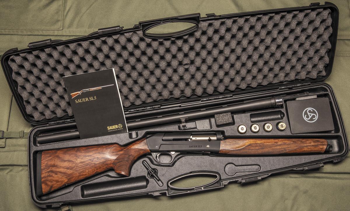Ружье поставляется в надежном пластиковом кейсе