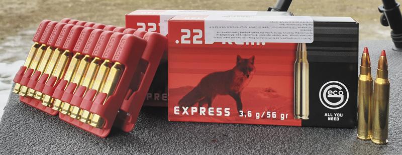 Патроны RUAG Geco с пулей Express массой 55 гран