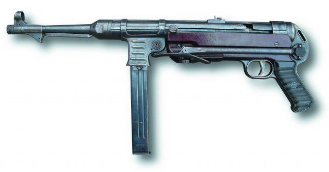 Німецький пістолет-кулемет MP-40