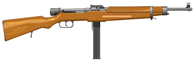 Пістолет-кулемет Kiraly 39.M Danuvia