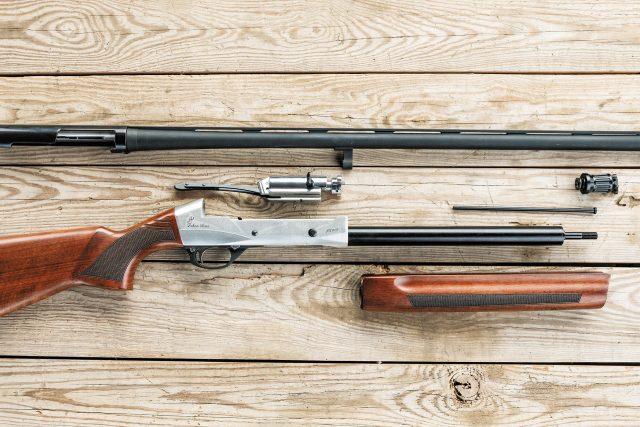 Неполная разборка Ozkan Arms FX 015