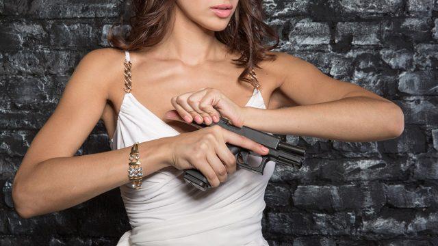 Кодекс стрелка от девушек-моделей (фотоподборка)