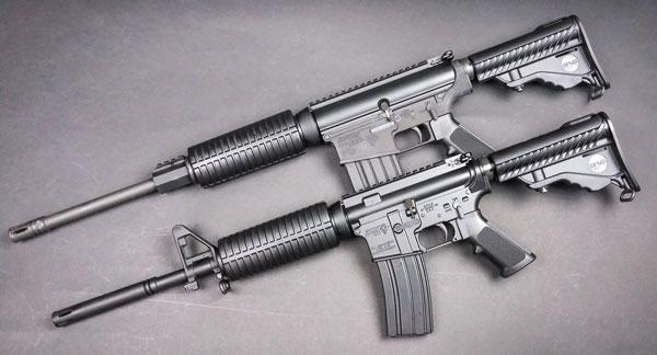DPMS PCAR (внизу) и DPMS Oracle — самые доступные американские самозарядные карабины в калибрах .223 Rem и .308 Win
