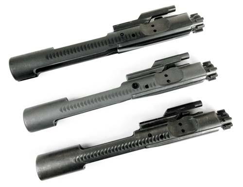 Как нижние ресиверы, так и затворные рамы AR-15 могут быть модифицированы производителем для исключения самостоятельной установки шептала автоматического огня
