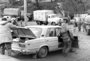 НКАО, 1990 г., режим чрезвычайного положения, досмотр транспорта