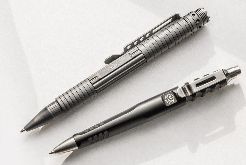 При желании можно выбрать тактическую ручку на любой вкус