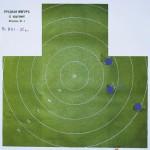 Пуля, дистанция 35 м, нижний ствол (цилиндр)