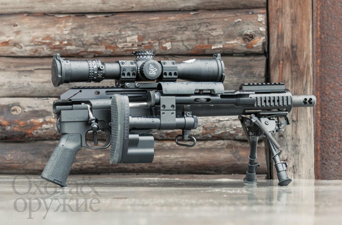 McMillan Alias CS5 — малогабаритная снайперская винтовка .308-го калибра для скрытного ношения и применения в рабочем и походном состояниях