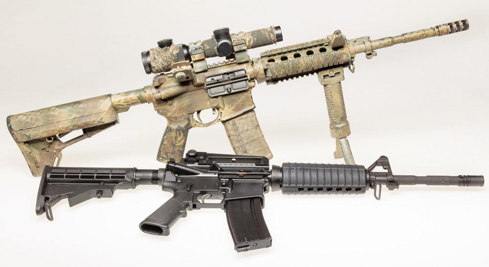 В процессе тюнинга «черная винтовка» сменила и облик, и окраску