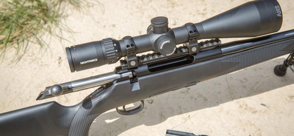 Отстрел Titan 6 All-Round патроном Hornady Match показал необходимость использования более совершенной ложи для соответствия требованиям высокоточной стрельбы