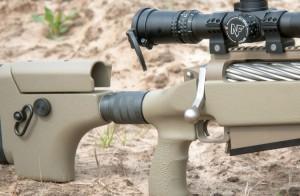 Не имеющая буфера отдачи ТАС-50 А1, тем не менее, остается одной из самых комфортных винтовок калибра .50 BMG