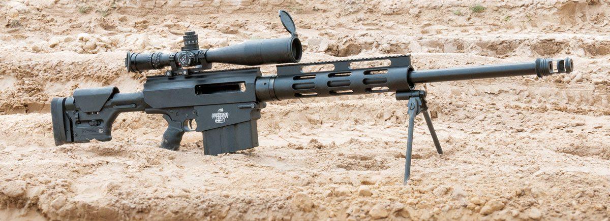 Снайперский комплекс из Bushmaster BA50 и Nightforce B.E.A.S.T. 5-25x56 F1
