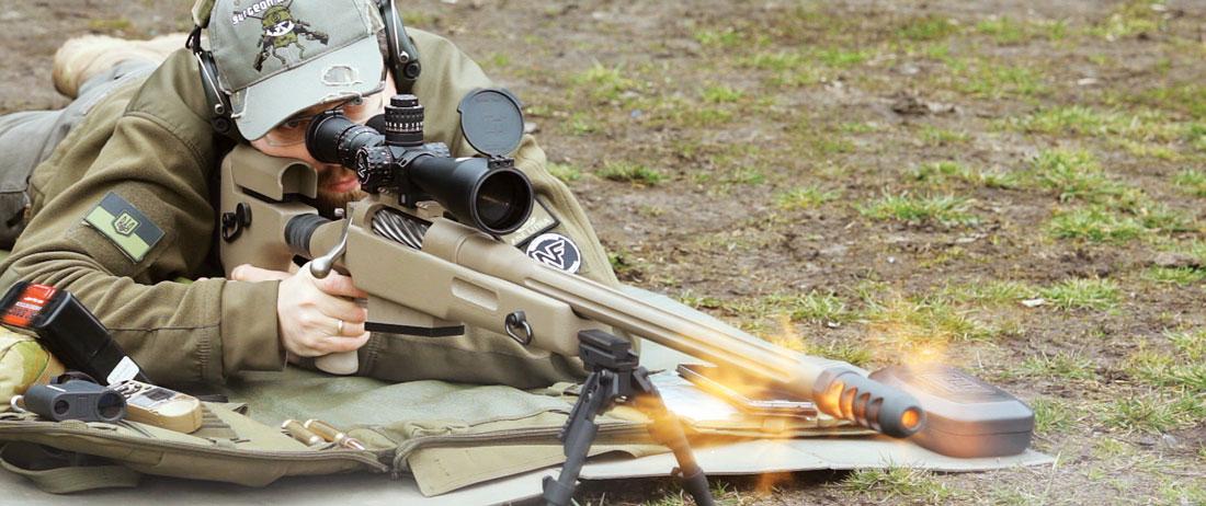 Винтовка McMillan TAC-50 A1 запомнилась великолепной кучностью и вполне удовлетворительным комфортом при выстреле