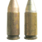 Американские патроны 9х19 Luger, снаряженные пулями, аналогичными по конструкции немецким пулям DWM № 278F и 278H