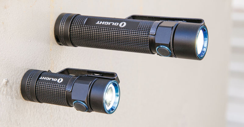 Все карманные фонари серии S Baton имеют магнит в крышке батарейного отсека