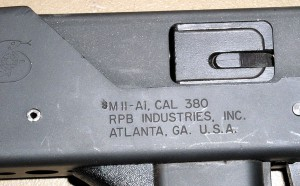 Ранние RPB M11 маркировались слева, справа была маркировка МАС. Полностью «свой» образец в RPB назвали М11-А1; у «полуавтоматов» просто добивали букву S