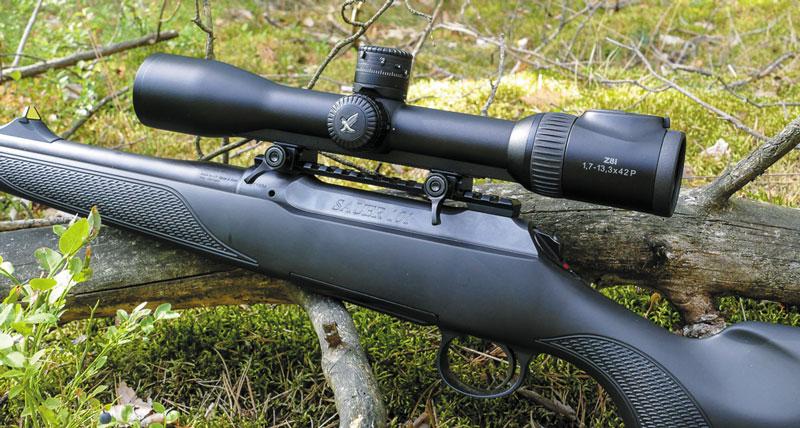 Тестовый прицел смонтирован на винтовке Sauer101 Forest XT (.308 Win)