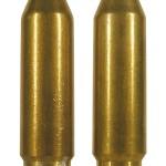 Английский (RG) и итальянский (GFL) патроны 4,6х30 с тренировочными «разрушающимися» пулями (Frangible). Пули сделаны из порошкового сплава и покрыты тонким слоем томпака