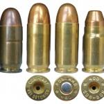 Некоторые калибры, адаптированные для использования с пистолетами на базе Colt М1911 А1