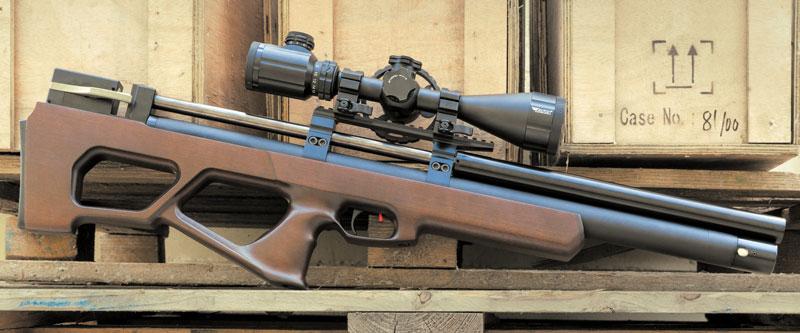 Красавец «Раптор Лонг» имеет наибольший запас выстрелов среди всех РСР-винтовок, представленных в Украине