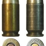 Патроны 9х17 германского производства: коммерческий вариант компании RWS и патрон, выпущенный в период оккупации на чешском предприятии Waffenwerke Brünn A.G. из г.Поважска Быстрица (бывш. Zbrojovka Brno, A. S.)