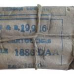 Образец упаковки и маркировки патронов 8x50R Lebel английского производства периода Первой мировой войны