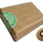 Чехословацкие патроны 8х50R Mannlicher: бумажная пачка на 10 патронов, изготовленных для Болгарии, общий вид патрона с обычной пулей и варианты маркировки