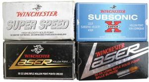 Картонные коробки на 50 патронов производства фирмы Winchester, г. Ист Альтон, США