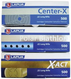 Промежуточные коробки на 500 патронов .22LR компании Lapua GmbH, г. Шонебек-на-Эльбе (бывший SK Jagd — und Sportammunition GmbH)
