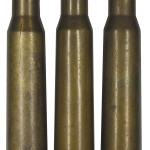 Патроны 12,7 мм ДШК разных лет производства, снаряженные бронебойной пулей Б-30