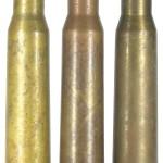12,7-мм патроны ДШК периода ВОВ: с пулей БЗТ, в пулей БЗФ-46, с пулей БЗТ-44