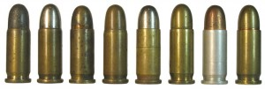 Типы патронов 6,35х15SR с различными вариантами снаряжения и материалов для изготовления гильз и пульных оболочек