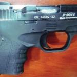 Турция, Диарбакыр, 2011: 7,65-мм SIG Sauer P2011, а присмотреться — Zoraki М906. Бренд SIG Sauer популярен среди передельщиков Zoraki М906