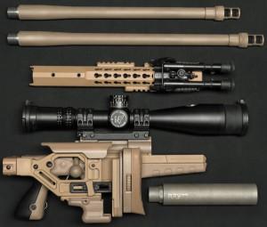 CSR означает Consealable Sniper Rifle, то есть снайперская винтовка для скрытого ношения; несложно увидеть, почему