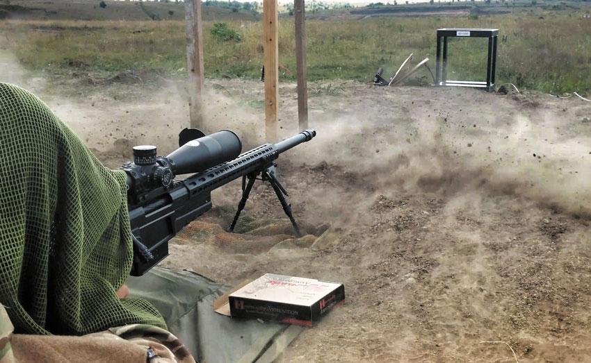 Дульный тормоз винтовки Surgeon PSR делает совершенно комфортной стрельбу даже калибром .338 Lapua Magnum