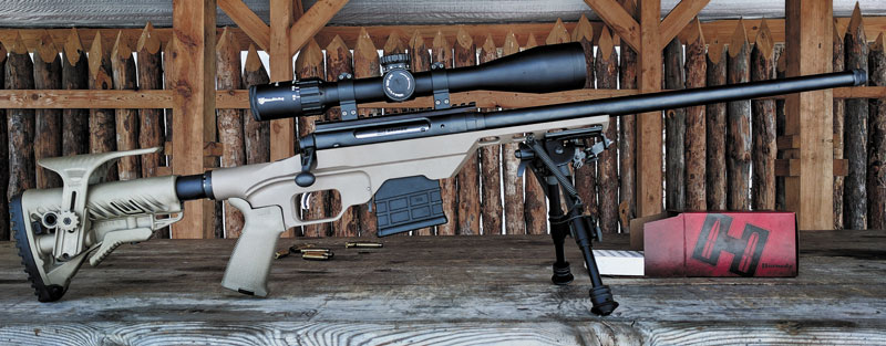 Во второй части статьи мы расскажем о серьезной модернизации винтовки...