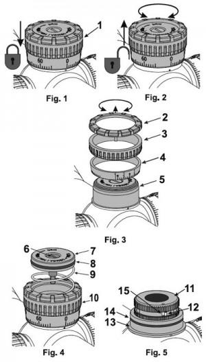 Схема монтажа/демонтажа барабана быстрого внесения поправок