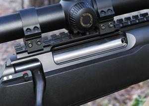 Планка Пикатинни для Remington 700 LA встала на Sauer S100 XT как родная