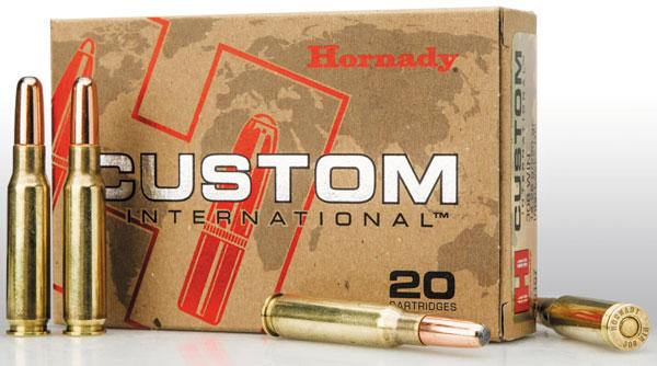 патроны Hornady Custom International предназначены для европейских охотников и не продаются в США