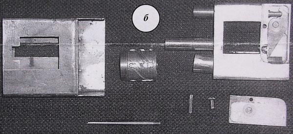 Револьвер, который помещается в пачке из-под сигарет (Севастополь, 2003 г.)
