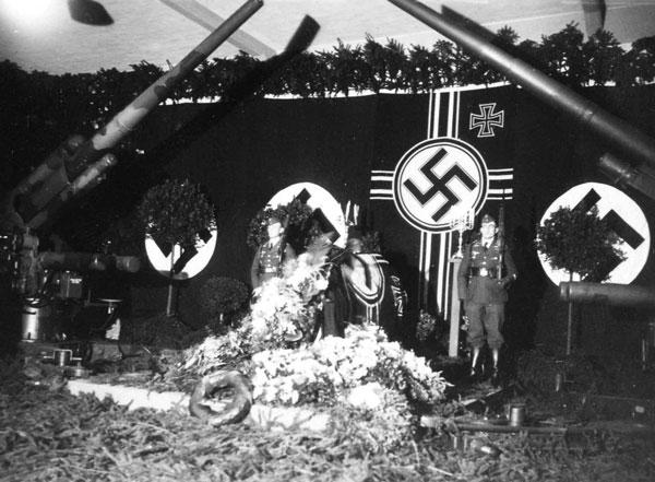 Торжественная церемония похорон Вильгельма Кубе