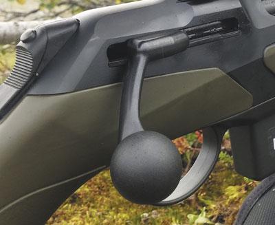 Затвор прямого действия RX.Helix значительно ускоряет перезарядку, а наличие шпаншибера делает транспортировку оружия с патроном впатроннике абсолютно безопасным