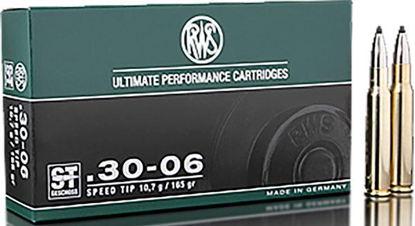 Пуля Speed Tip Pro патронов RWS отличается высокой эффективностью работы по дичи