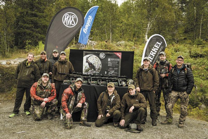 Участники охоты RWS Northern Classic