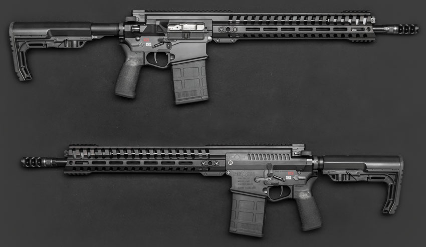 "Винтовка Revolution (калибр 7,62 mm NATO, длина ствола 16,5"", шаг нарезов 1:10"")"